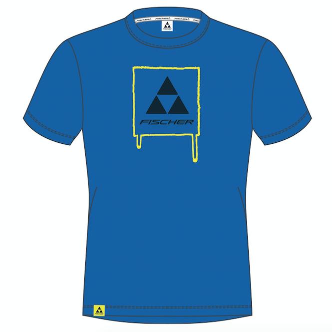 fischer tshirt freeride logo 2017 super koszulka fischera